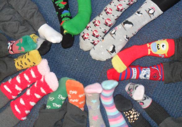 Odd Socks Day 2019